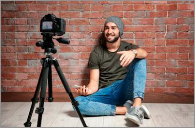 Видео блогер